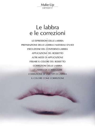 Le Labbra e le correzioni