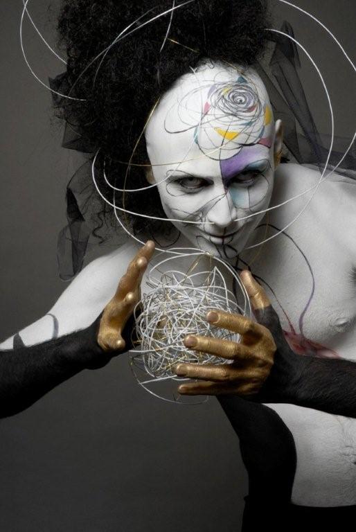Scuola BCM-lavoro svolto di trucco artistico e body painting