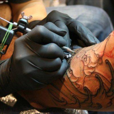 Scuola BCM-lavoro svolto di tatuaggio